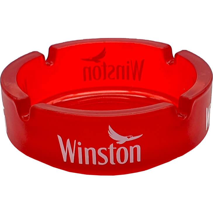 Winston Glas Aschenbecher