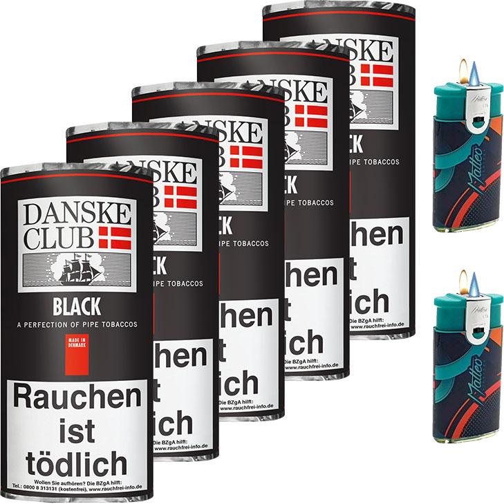 Danske Club Black 5 x 50g
