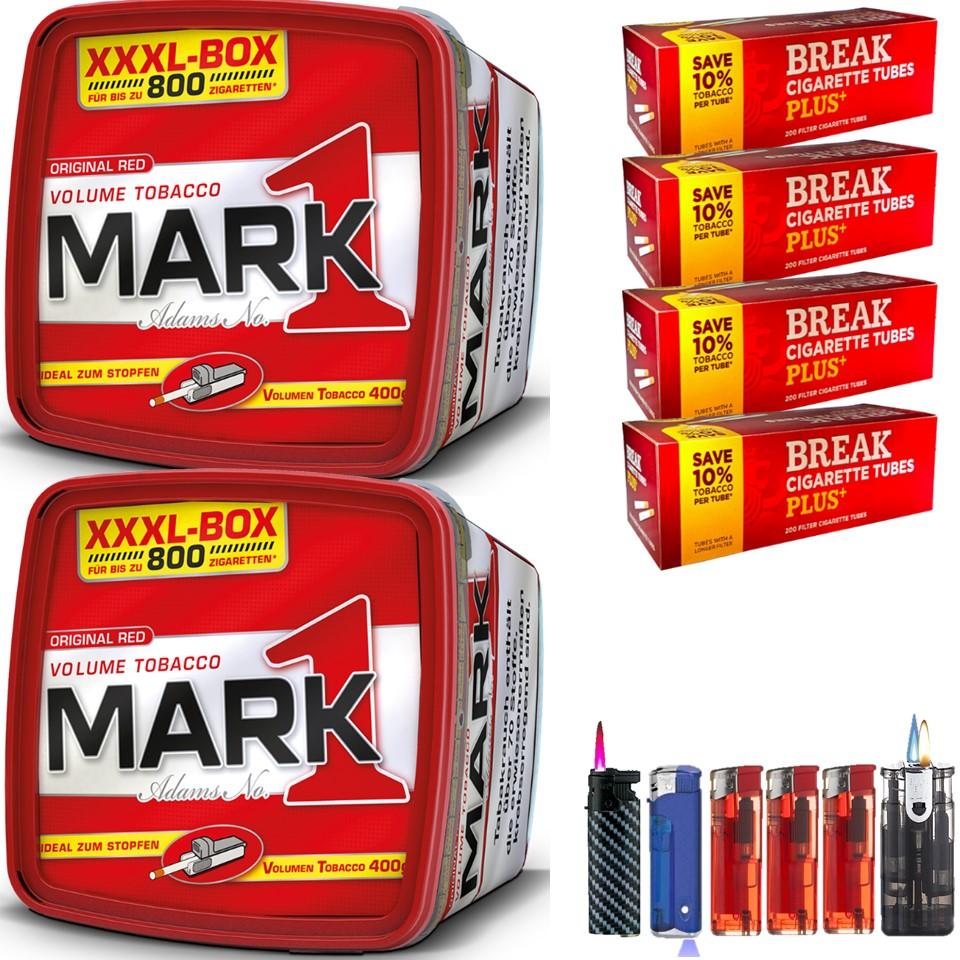 Mark 1 XXXL Box 2 x 400g mit 800 Hülsen