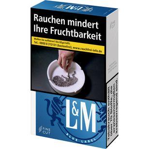 L&M Blue Label 6,80 €