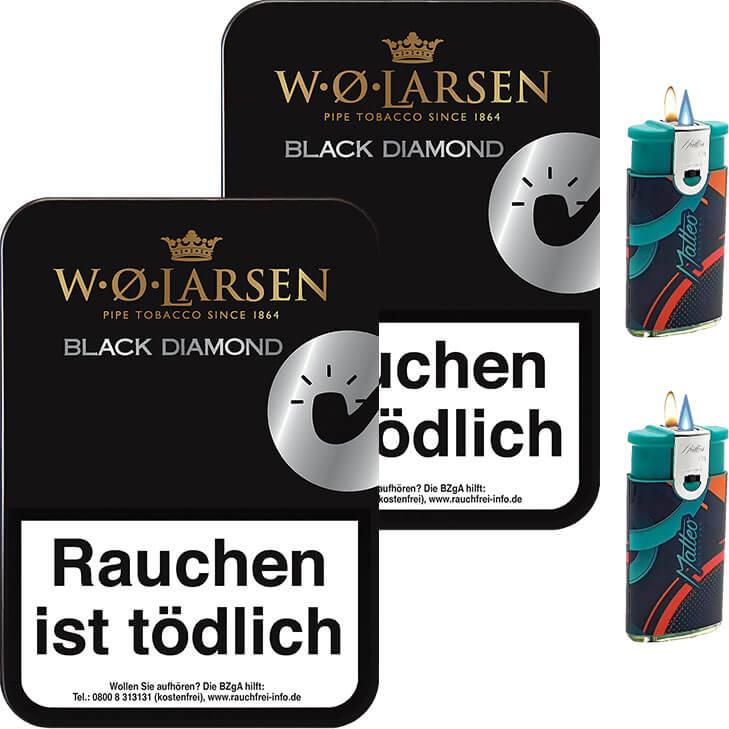 W.O. Larsen Black Diamond 2 x 100g