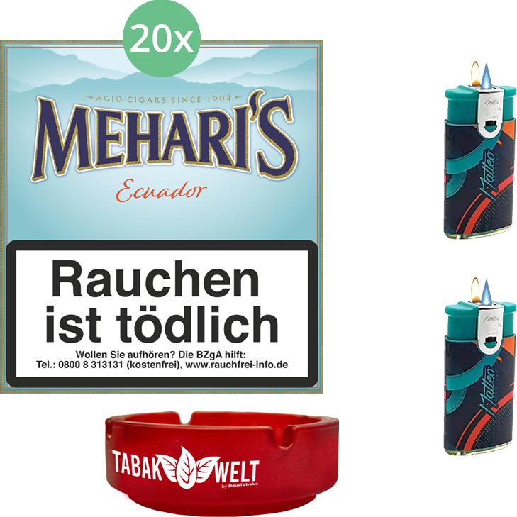 Mehari's Ecuador 20 x 20 Stück