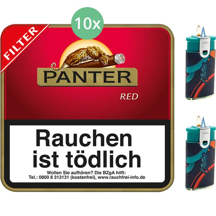 Panter Red Filter 10 x 20 Stück