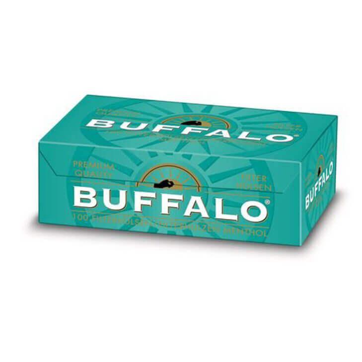 Buffalo Menthol Filterhülsen
