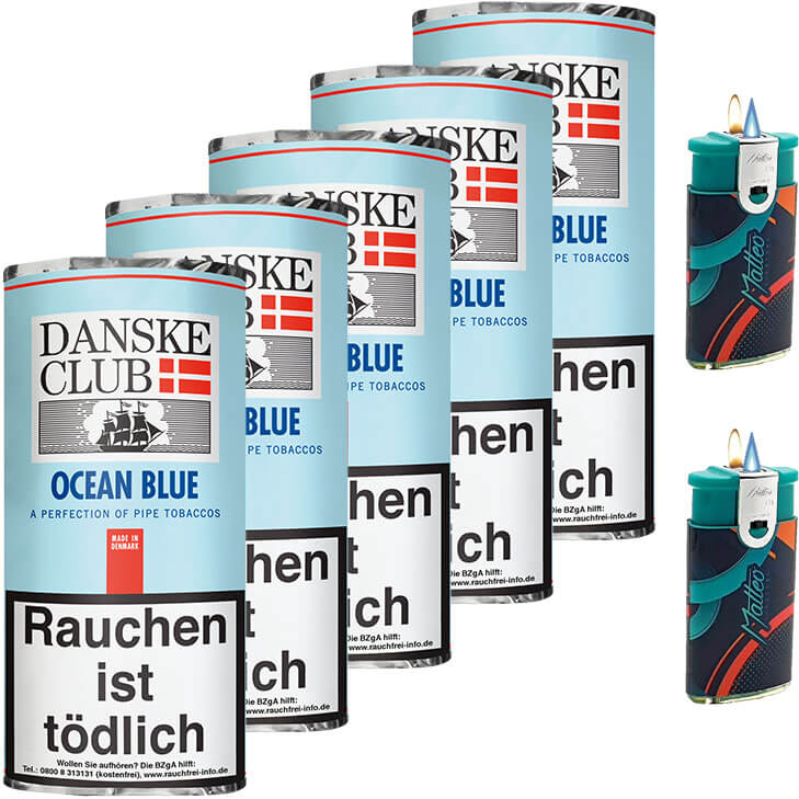 Danske Club Ocean Blue 5 x 50g