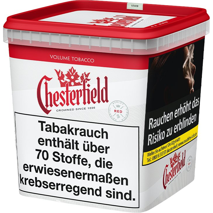 Chesterfield Red Volume Tobacco 280g