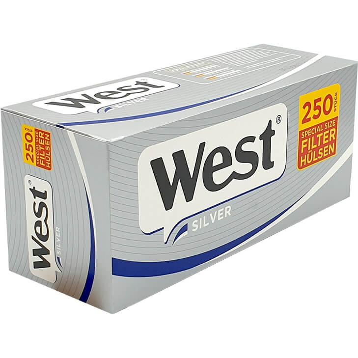 West Special Size Silver Filterhülse 250