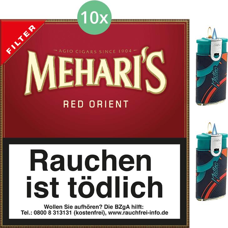 Mehari's Red Orient Filter 10 x 20 Stück