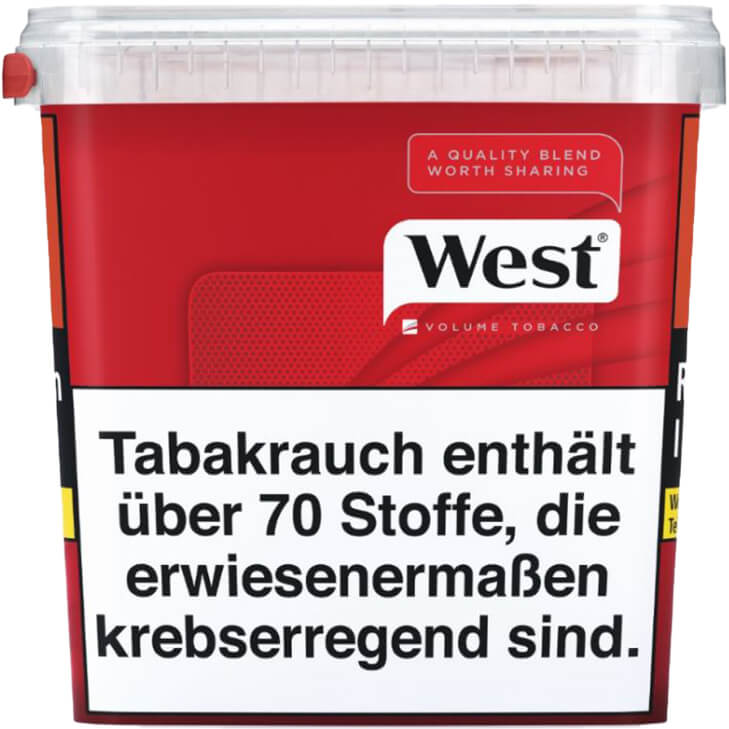 West Red Volumentabak 280g
