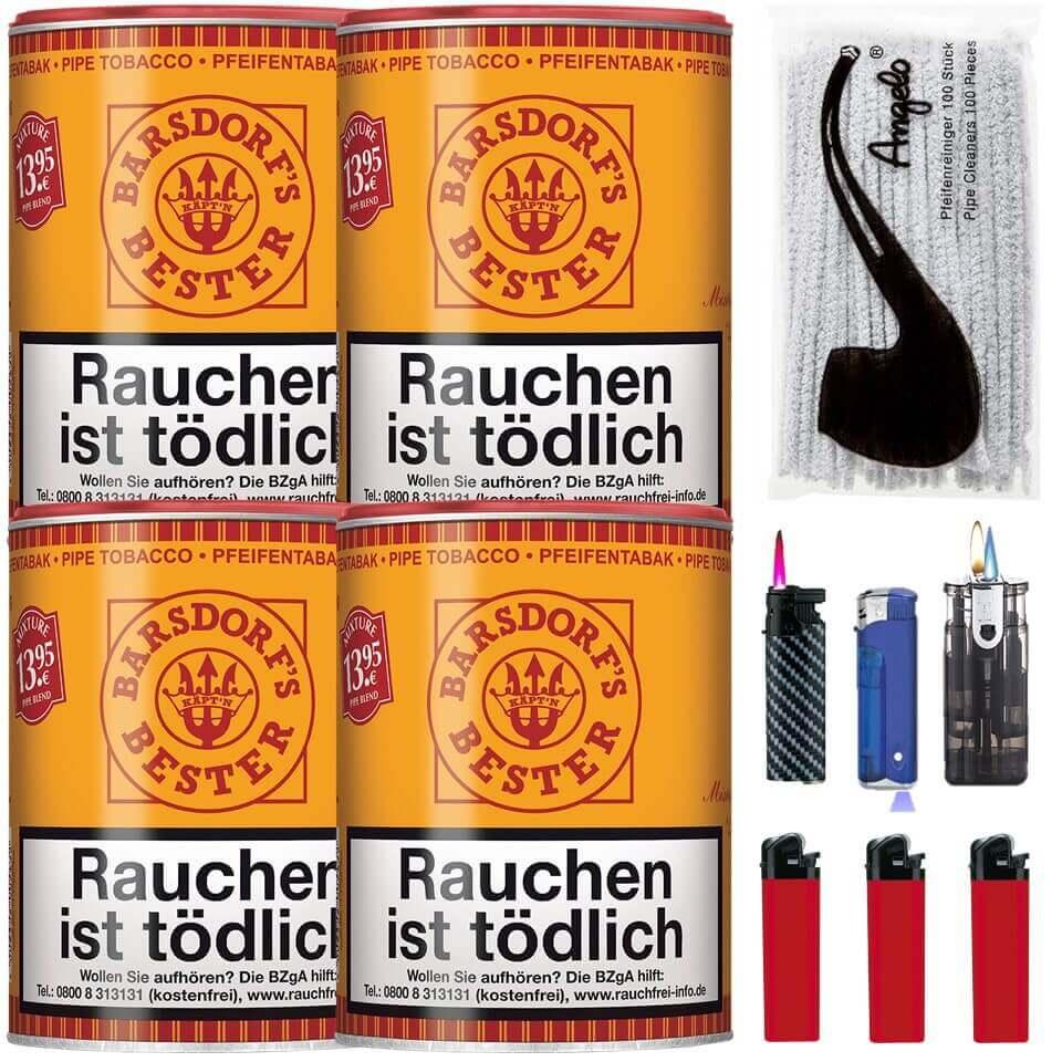 Barsdorf´s Bester Aromatic Mixture 4 x 160g Pfeifentabak Uvm.
