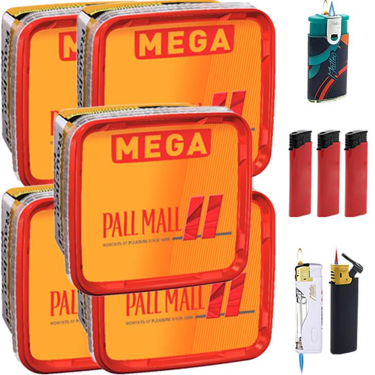 Pall Mall Allround 5 x 170g mit Feuerzeugen