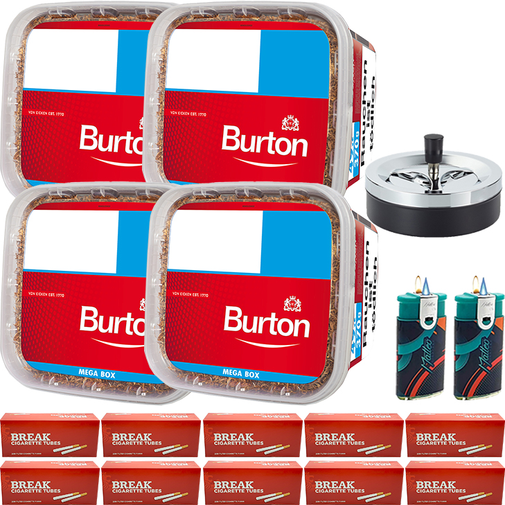 Burton 4 x 350g 2000 mit 2000 Break Hülsen
