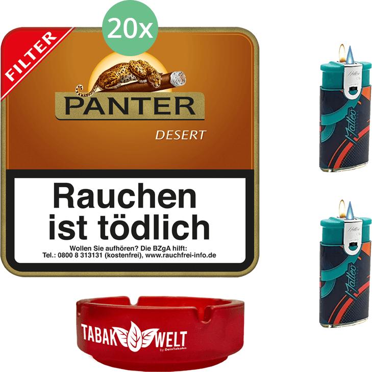 Panter Desert Filter 20 x 20 Stück