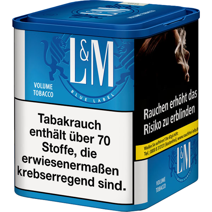 L&M Volume Tobacco Blue M 45g