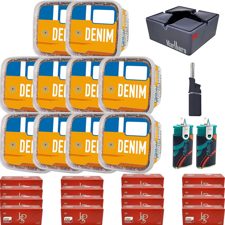 Denim Mega Box 10 x 290g mit 4000 Special Size Hülsen