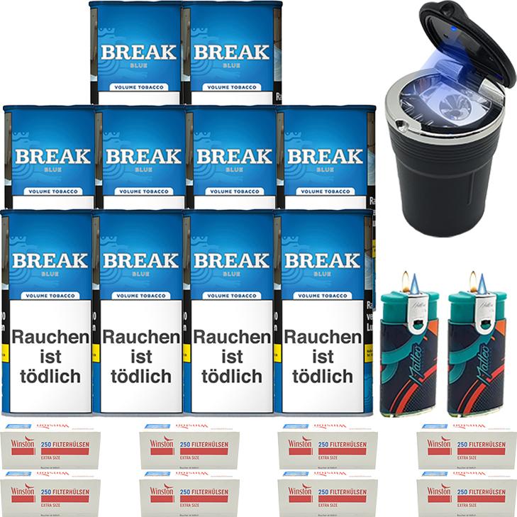 Break Blue / Blau10 x 115g mit 2000 Special Size Hülsen