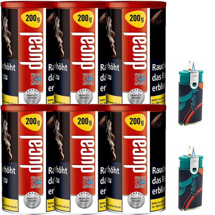 Ducal Red 6 x 200g