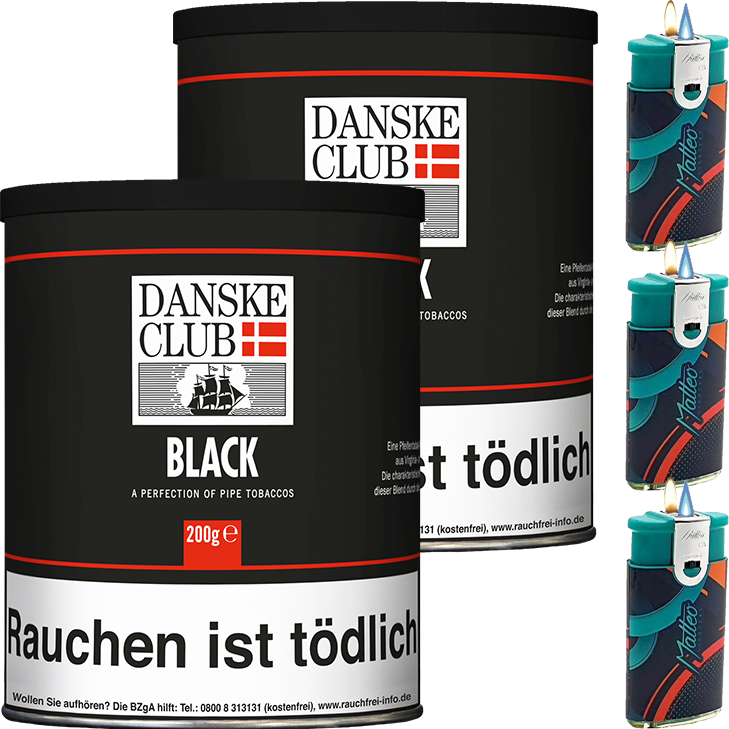 Danske Club Black 2 x 200g