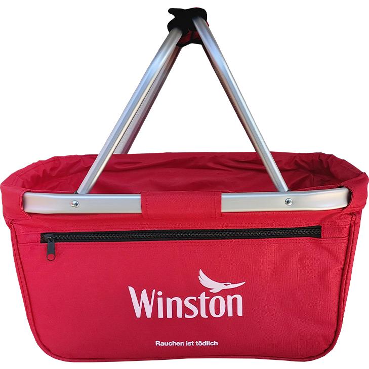 Winston Red 5 x 200g mit 2000 King Size Hülsen