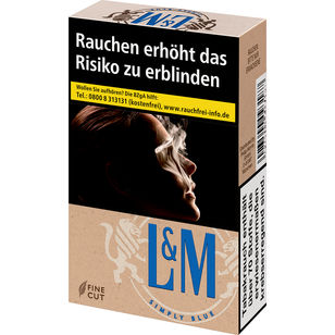 L&M Simply Blue 6,60 €