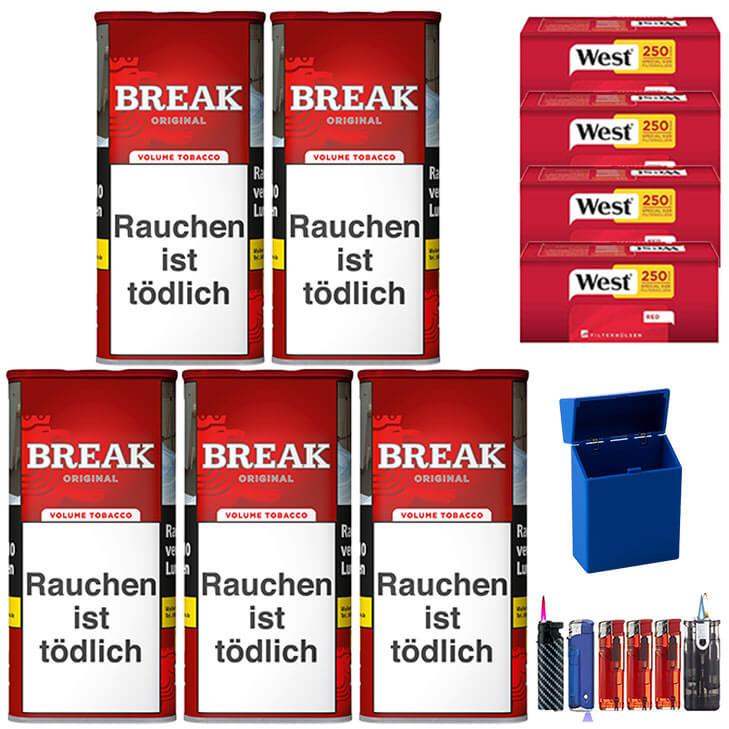 Break Original 5 x 120g mit1000 Special Size Hülsen