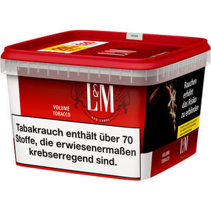 L&M Volumentabak Red Mega Box 170g