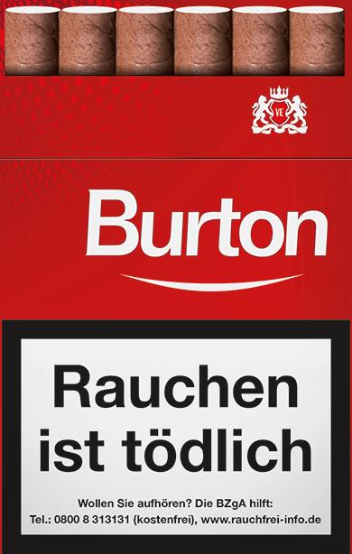 Burton Red Zigarillos 2,20 €
