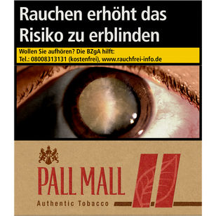 Pall Mall Authentic Red 10 €