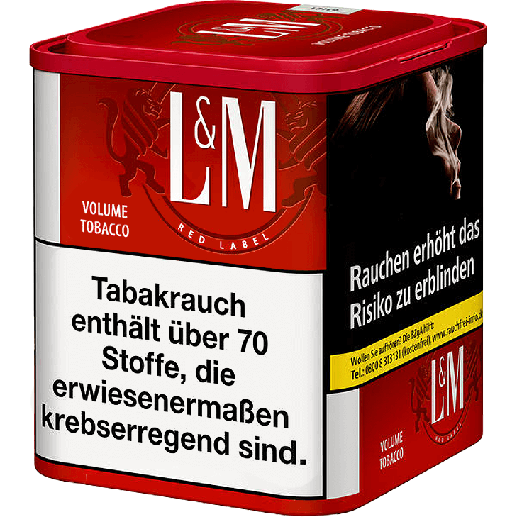 L&M Volume Tobacco Red M 45g