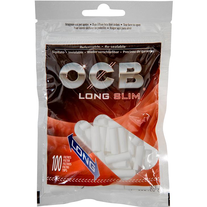 OCB Long Slim Filter 6 mm 100 Stück