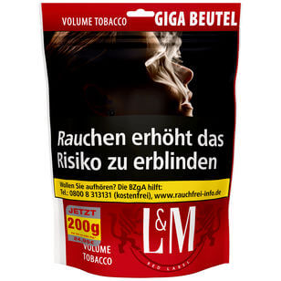 L&M Volume Tobacco Red 135g