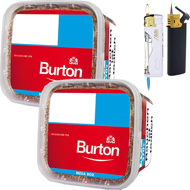 Burton Mega Box 2 x 350g mit Feuerzeugen