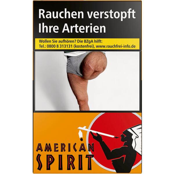 American Spirit Orange 7 €
