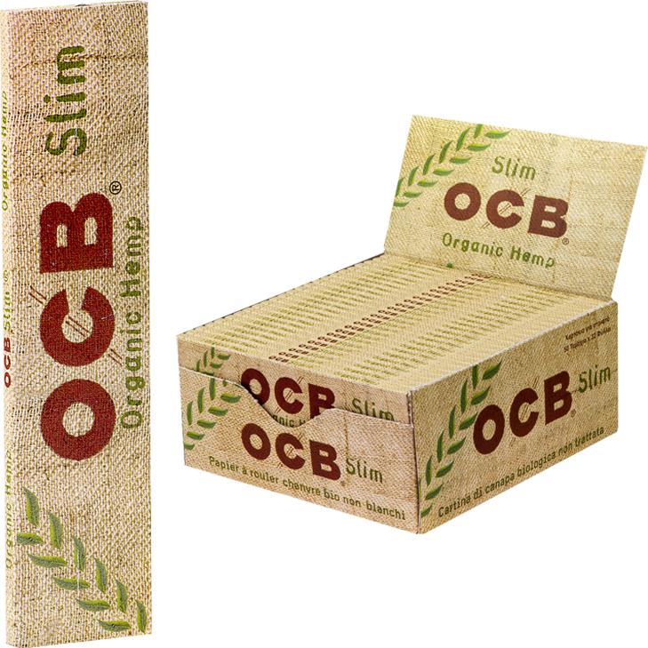OCB Organic Hemp Slim 50 x 32 Blatt