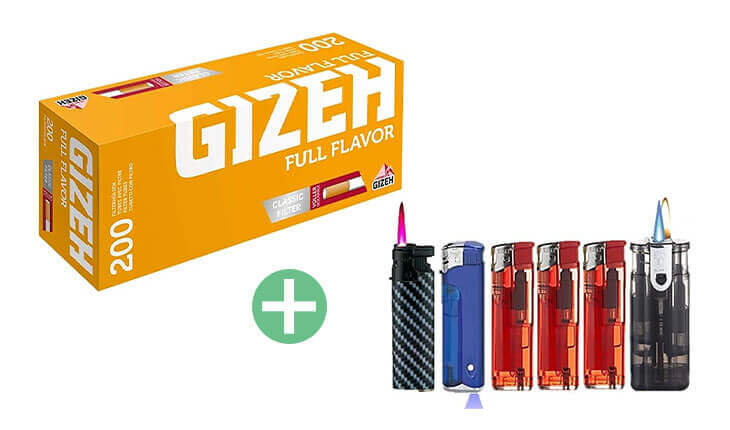Gizeh Full Flavor 25 x 200