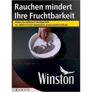 Winston Black 8 €