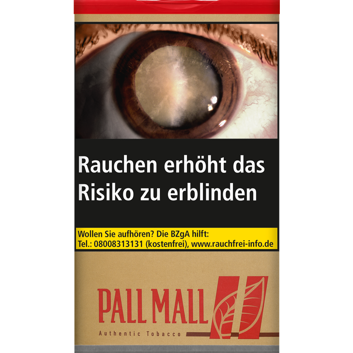 Pall Mall Authentic Red 60g