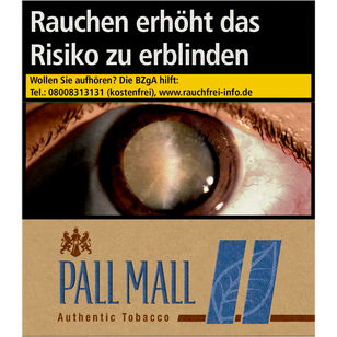 Pall Mall Authentic Blue 10 €