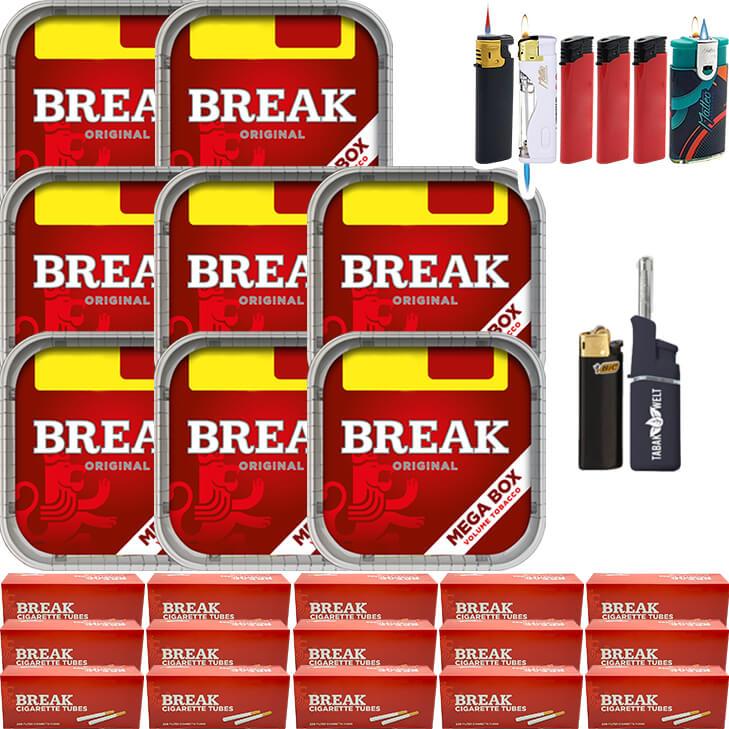 Break Original 8 x 170g mit 3000 Hülsen