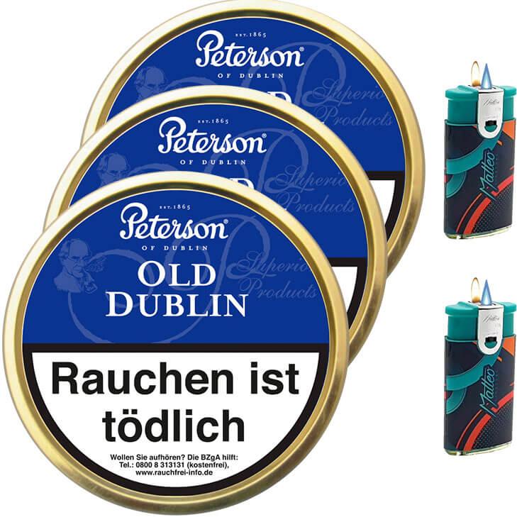 Peterson Old Dublin 3 x 50g
