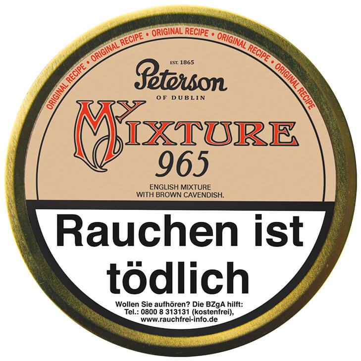 Peterson My Mixture 965 - 3 x 50g
