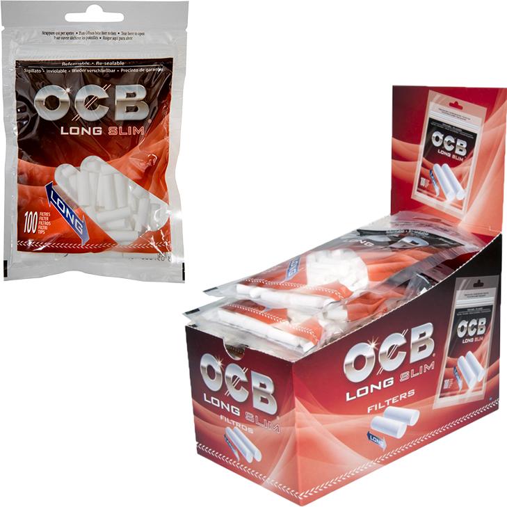 OCB Long Slim Filter 6 mm 10 x 100 Stück