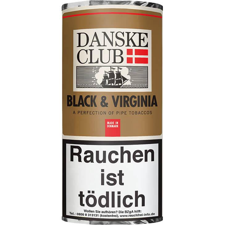 Danske Club Black & Virginia 5 x 50g