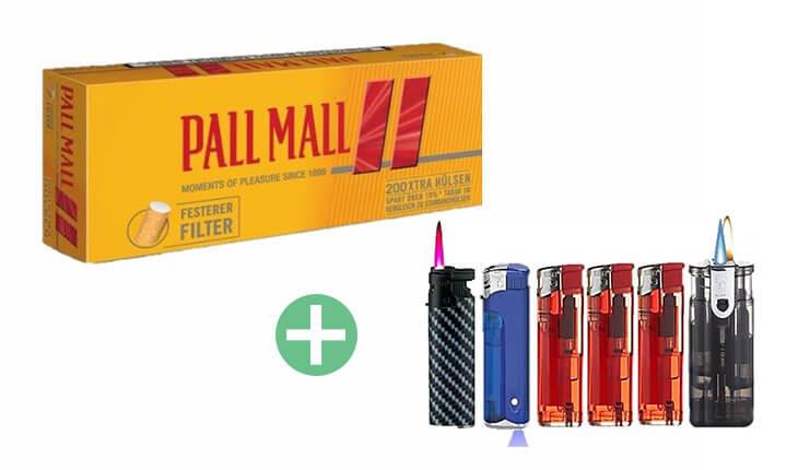 Pall Mall Allround Red Xtra Filterhülsen 25 x 200