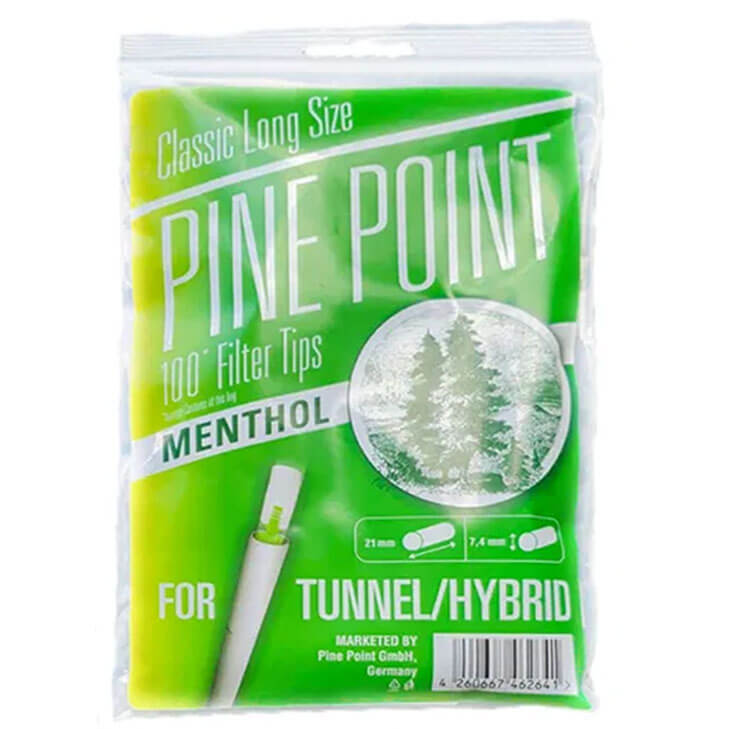 Mark 1 Pine Point Filter Tips Menthol