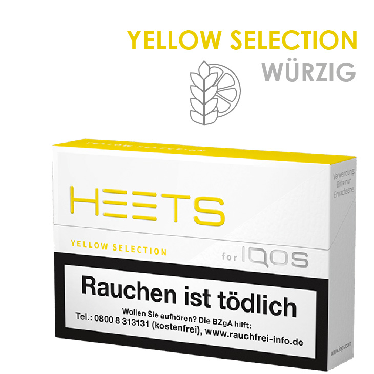 IQOS Heets Yellow Selection 10 x 20 Stück