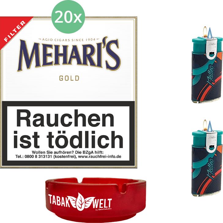 Mehari's Gold Filter 20 x 20 Stück