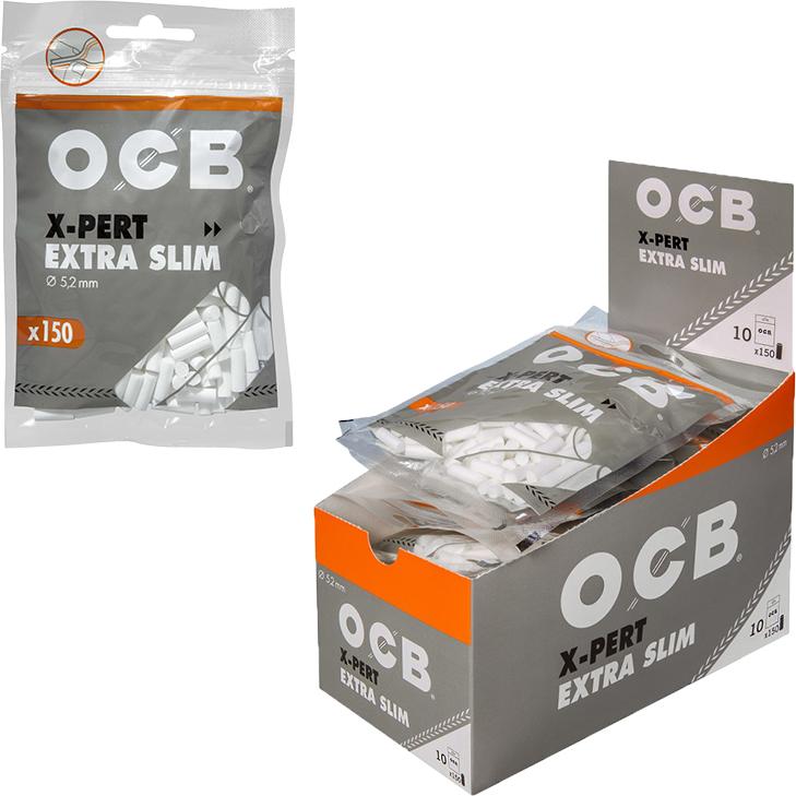 OCB X-PERT Extra Slim 5,3 mm 10 x 150 Stück