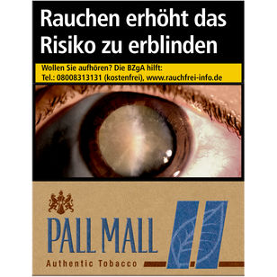 Pall Mall Authentic Blue 8 €