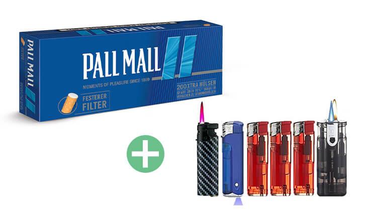 Pall Mall Blue Xtra Filterhülsen 25 x 200